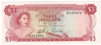 East Caribbean Note 1965 1 Dollar, Signature 8, EF