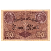 Germany Note 1914 20 Mark, EF