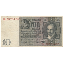 Germany Note 1929 10 Reichsmark, VF