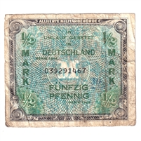 Germany Note 1944 41640 Mark, With F, F