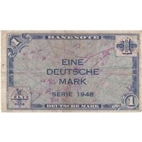 Germany Note 1948 1 Deutsche Mark, F