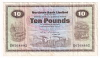 Ireland Note 1988 10 Pounds, VF