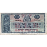 Scotland Note 1964 1 Pound, F-VF