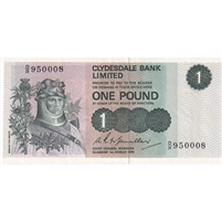 Scotland Note 1974 1 Pound, UNC