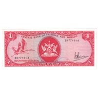 Trinidad Note 1964 1 Dollar, AU