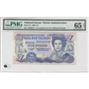 Falkland Islands 1 Pound Note 1984 PMG Certified GUNC-65, EPQ
