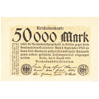 Germany Note 1923 50000 Mark, UNC