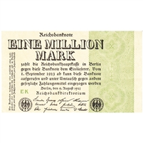Germany Note 1923 1 Million Mark, AU