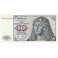 Germany Note 1980 10 Deutsche Mark, EF