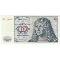 Germany Note 1980 10 Deutsche Mark, VF