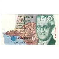 Ireland Note E157 1995-97 10 Pounds, VF-EF