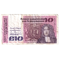 Ireland Note E146 1983-87 10 Pounds, Very Fine