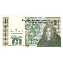 Ireland Note E139 1988-89 1 Pound, AU