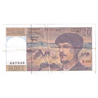 France Note Pick #151i 1997 20 Francs, Extra Fine