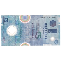 Northern Ireland Note Pick #203a 1999 5 Pounds, Very Fine