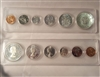 1964 Canada 6-coin Year Set in Snap Lock Case