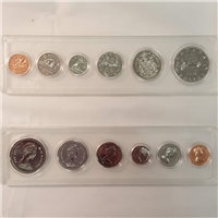 1978 Canada 6-coin Year Set in Snap Lock Case