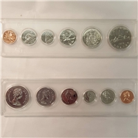 1979 Canada 6-coin Year Set in Snap Lock Case