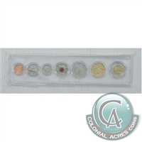 2008 Canada 7-coin Year Set in Snap Lock Case.
