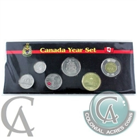 2013 Canada 6-coin Year Set in Black Display Sleeve with coins