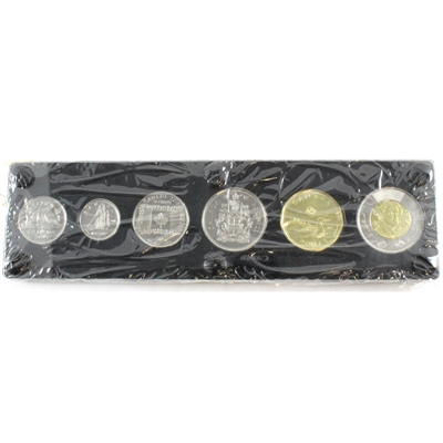 2015 Canada 6-coin Year Set in a Special Deluxe Hard Plastic Case