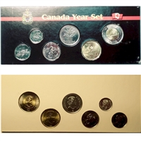 2017 Canada 6-coin Commemorative Year Set in Black Display Sleeve