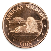 1oz. Pure Copper - John F. Kennedy (No Tax)