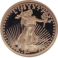 Pure Copper .999 Fine Copper - Saint Gaudens (No Tax)