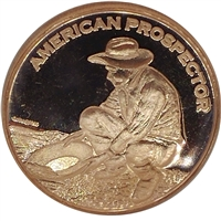 Pure Copper .999 Fine Copper - American Prospector (No Tax)