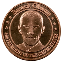 Pure Copper 1oz. .999 Fine - Ben Franklin (No Tax)