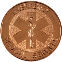 Pure Copper 1oz. .999 Fine -$10 Bison Bar (No Tax)