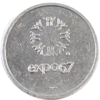 Expo '67 Montreal United States Currency Aluminum Token