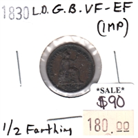 1853 USA Cent VG-F (VG-10) impaired