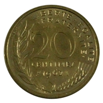 France 1962 (a) 20 centimes Essa 1 Proof - 3500 Mintage