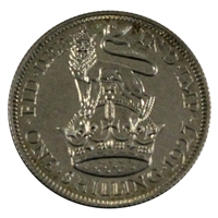 Great Britain 1927 George V Modified Head Shilling Proof