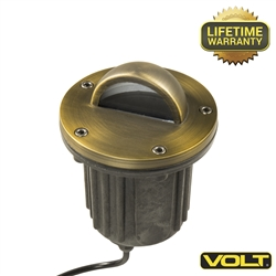 Brass Bully Beacon MR16 Well Light