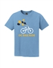 Blue Kids Balloon Short Sleeve T-Shirt