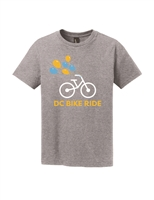 Gray Kids Balloon Short Sleeve T-Shirt