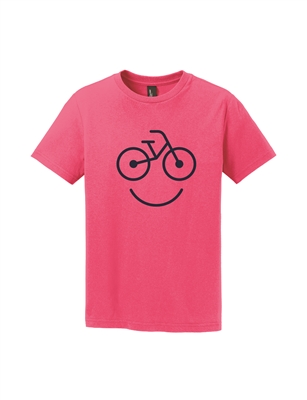 Pink Kids Short Sleeve T-Shirt