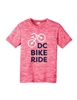 Kids Pink Performance Short Sleeve T-Shirt