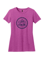 Ladies 2019 Pink Chain Logo Short Sleeve T-Shirt