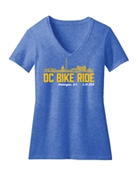 Ladies 2019 DC Skyline Short Sleeve T-Shirt