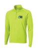 Neon DC Bike Ride Stretch Pullover