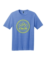 2019 Blue Chain Logo Short Sleeve T-Shirt