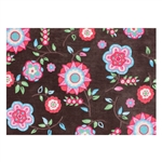 "Bohemian Floral 7' 6"" x 9' 6"" Extra Large HandTufted Room Rug"