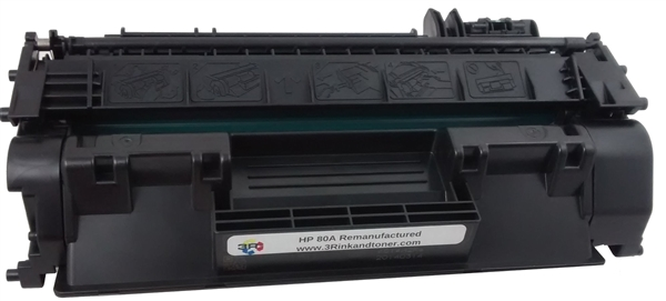 HP 80A (CF280A) Black Toner Cartridge Remanufactured