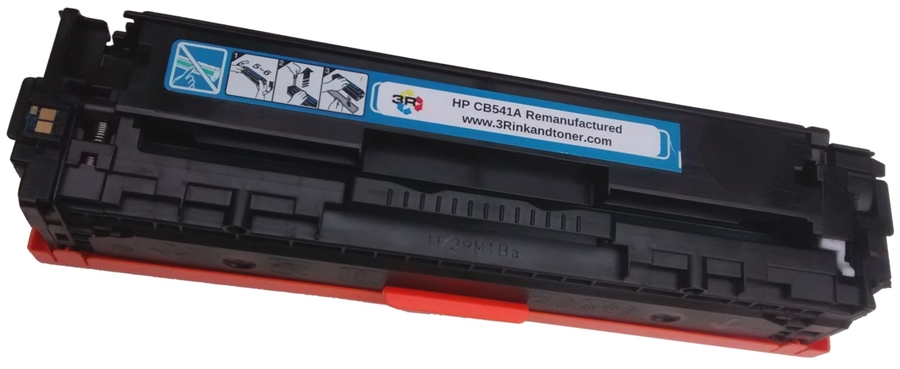 Remanufactured Toner Cartridge Replacement for HP 135A CB540A CB541A CB542A CB543A Toner Cartridge for Use with HP CM1312 CM1312nfi CP1215 CP1515N Laser Printer-Combination