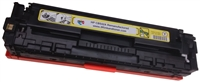 HP CB542A (125A) Yellow Toner Cartridge Remanufactured