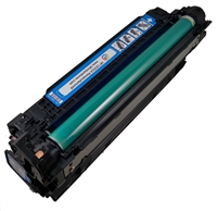 HP CE251A (504A) Cyan Toner Cartridge Remanufactured