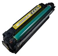 HP CE252A (504A) Yellow Toner Cartridge Remanufactured